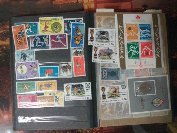 Продам коллекцию почтовых марок времён СССР.