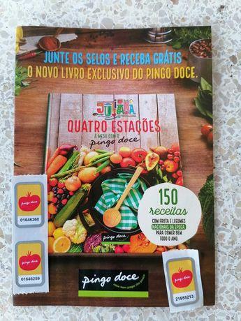 Selos livro de receitas pingo doce