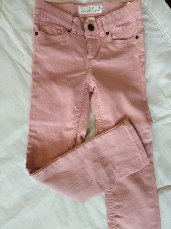 Spodnie rurki dziewczęce H&M rozmiar 110