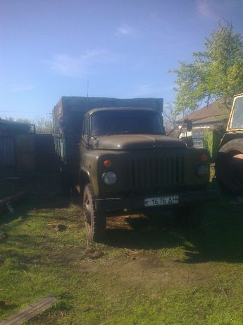 Продам грузовой автомобиль газ53 бортовой платформа