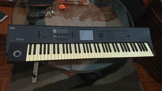 Korg M-50 Sintetizador e Workstation