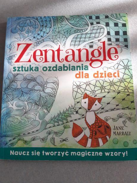 Zentangle sztuka ozdabiania dla dzieci