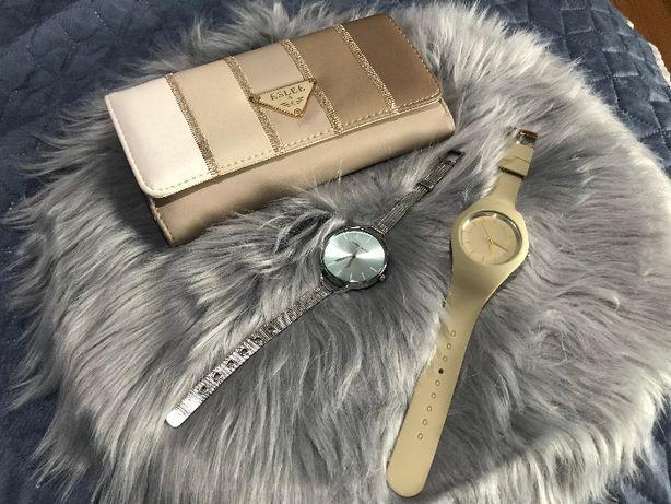 Zegarki damskie portfel damski zamienie
