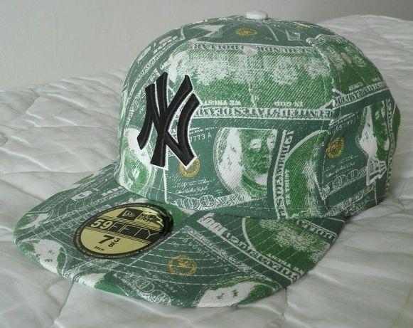 Czapka New Era New York L/XL Dollars 59 FIFTY Unikat. Stan idealny !!!