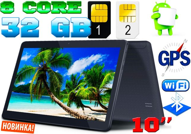 Планшет-телефон Samsung Tab light 10 2Sim,GPS, 3G, 3/32GB,  Корея