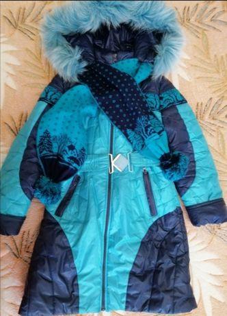 Куртка на девочку 8-10 лет