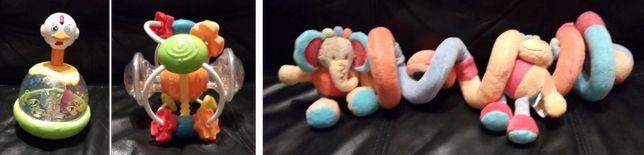 Vários Brinquedos de Bebé