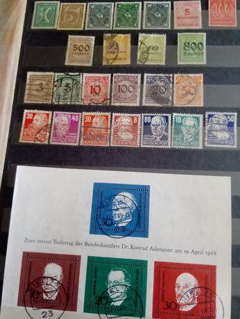 Sprzedam stare i bardzo stare znaczki niemiec