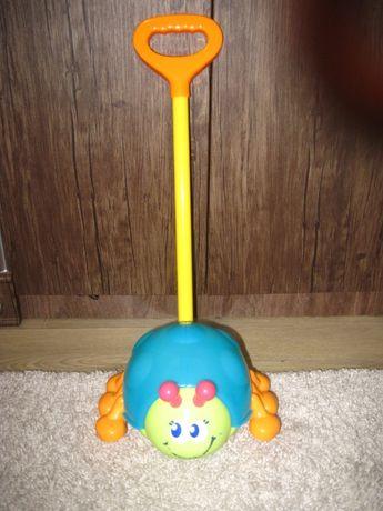 Игрушка каталка - жук (божья коровка) blue box