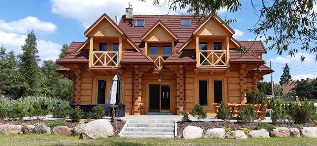 MAZURY dom WYNAJMĘ Sauna,Kominek, Ruska Bania,Całoroczny,Jezioro,Łódka