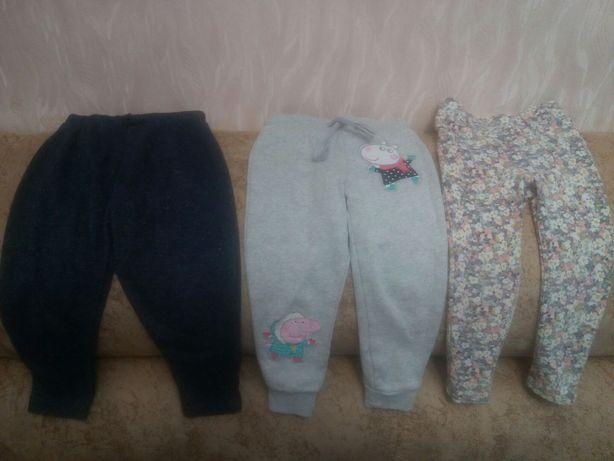 Штаны для девочки на 2-3года