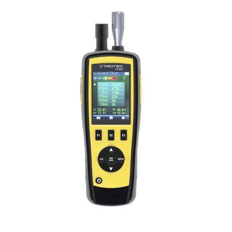 Licznik stężenia cząstek w powietrzu parametrów klimatu PC200 TROTEC