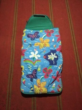 Детский спальный мешок, конверт