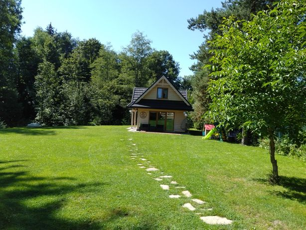 Drewniany domek w górach luksusowy klimatyczny i przytulny chata