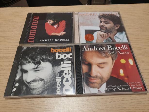 Bocelli, Carreras, Domingo, Pavarotti zestaw 11 płyt Cd