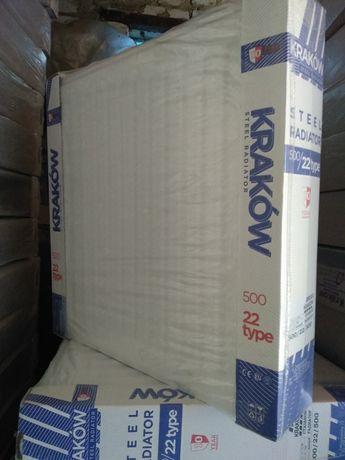 Стальные Радиаторы 22 тип Krakow,Koer. Все размеры, Без предоплат.