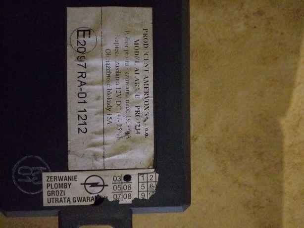 Alarm samochodowy PRO9234 do opla corsy używany,sprawny, odcina zapłon