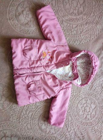 Деми куртка на дівчинку