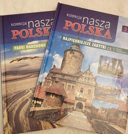 Kolekcja nasza Polska - Parki Narodowe oraz Najpiękniejsze zabytki