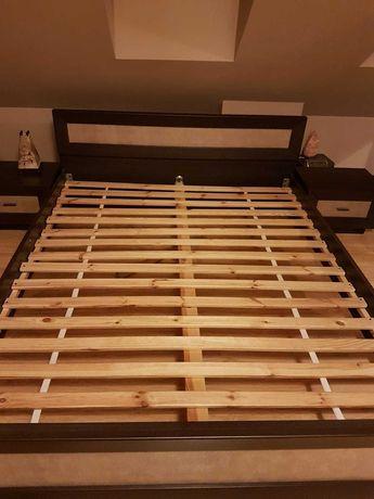 Łóżko 160x200 BlacRedWhite wenge