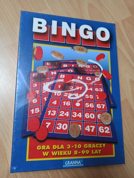 Gra Bingo nowa w folii Granna