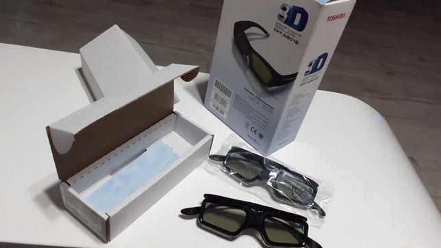 Okulary 3D Toshiba Aktywne Nowe