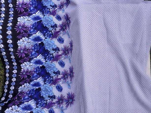Літня розпродаж тканин. Королівський шифон принтований
