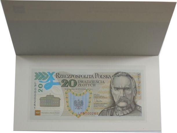 Banknot kolekcjonerski 20zł Legiony Polskie niski numer 261