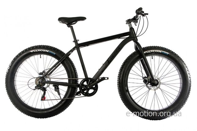 """Велосипед E-MOTION FATBIKE GT 26"""" / рама 19"""" черный матовый"""
