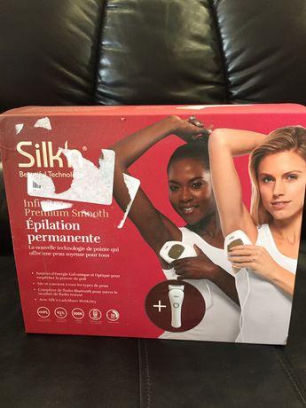 Фотоэпилятор с бритвой Silk'n Infinity Premium Smooth