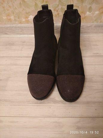 Деми ботинки,сапоги 25 см