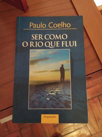 """Vendo livro """"Ser como o Rio que flui"""" de Paulo Coelho"""