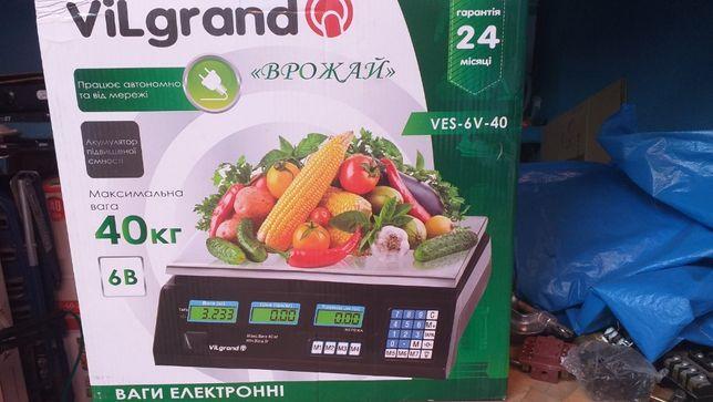 Весы Vilgrand ves-6v-40