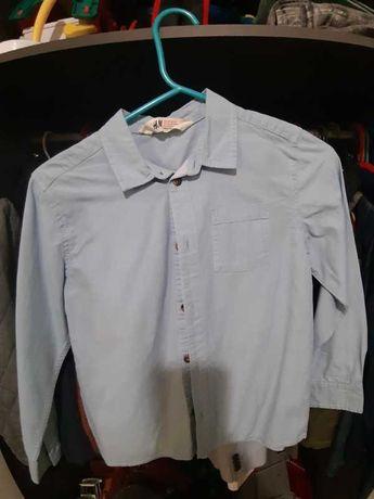 koszula hm rozmiar 128