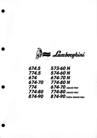 Katalog części Lambroghini w j polskim