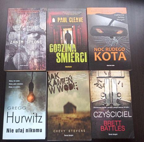 Zestaw książek, 6 szt. thrillery