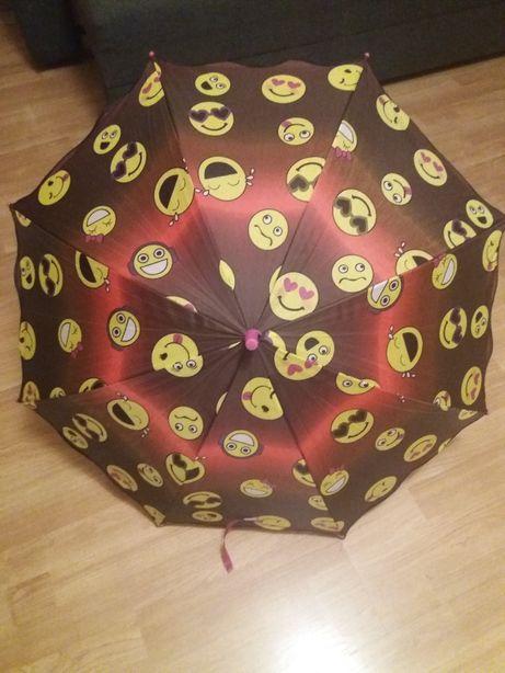 Parasolka dziewczęca z emotkami