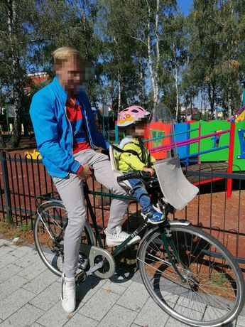 Fotelik rowerowy dziecięcy przedni