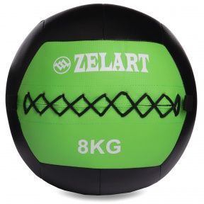 Мяч набивной для кросфита волбол WALL BALL 8 кг