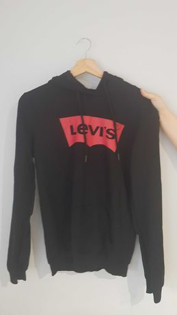 Nowa damska Bluza dresowa Levis Czarna M