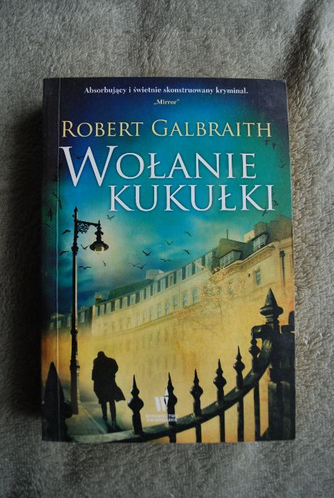 Wołanie kukułki Robert Galbraith Poznań - image 1
