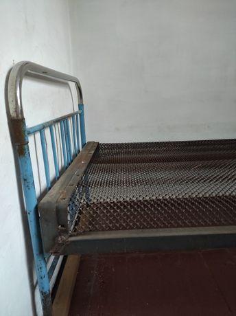 Кровать железная советская