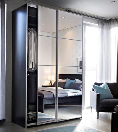 Nowe IKEA PAX Auli Drzwi przesuwne lustra 200x236