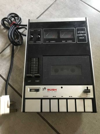 BUSH, Stereo Cassette Deck, Stary japoński magnetofon- Zobacz