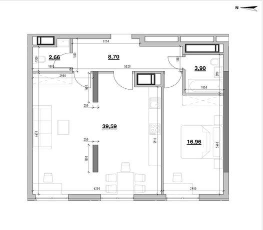 Срочная продажа! 2К квартиры в ЖК Nordiсa Residence! 72 м2
