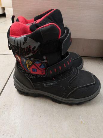 Ботинки термо для мальчика