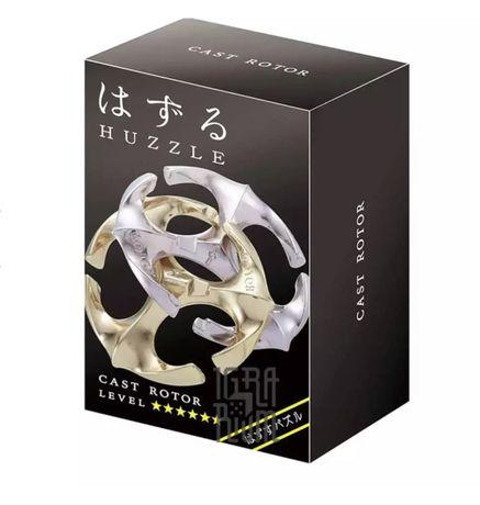 Настольная игра 6* hanayama (Huzzle Rotor)   Головоломка из металла