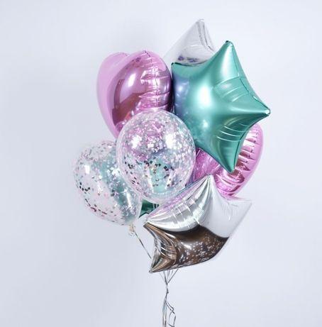 Гелиевые шарики, оформление праздников воздушными шарами