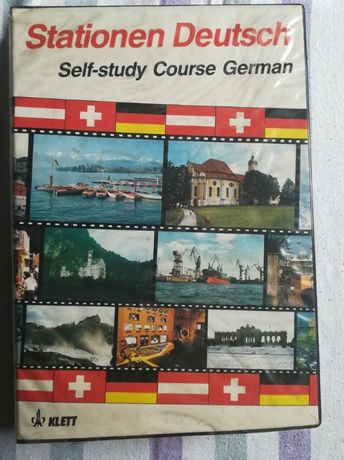 Kasety do nauki języka niemieckiego nieużywane