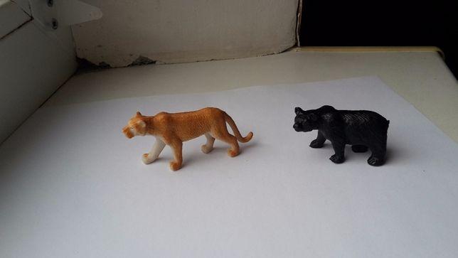 Маленькие игрушки, животные. твердая резина, миниатюра